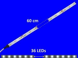 S899 - 5 Piece LED Carriage Lighting 600mm White Analogue + Digital with Cable