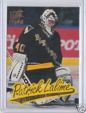 1996-97 Fleer Ultra Gold Patrick Lalime Rookie Card SP RC