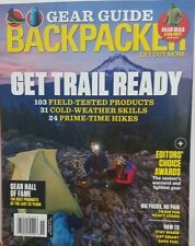 Backpacker Nov 2018 Gear Guide Get Trail Ready How to Stay Warm FREE SHIPPING CB