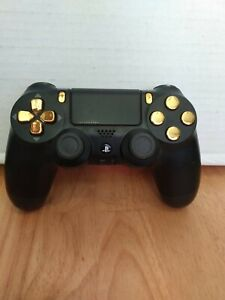 PS4 Modded Controller Gold Chrome Playstation 4 Master Mod Includes Rapid Fire