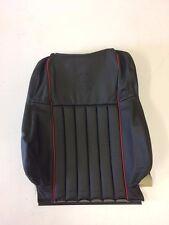 Classic Mini Seat Cover Squab - Black/Red Leather - Cooper - HBA104540RPY