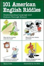 101 American English Riddles : Understanding Language and Culture Through Humor