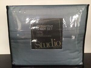 STUDIO JCP HOME 400 THREAD COUNT BED SHEET SET $159 Regular