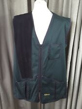 "Barbour Right Hand Green Harwood Skeet Shooting Vest Gilet C46""/117cm"