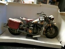 """ZY Toys 1/6 US Army WWII Harley-Davidson Motorcycle 15-1/2"""" Long"""