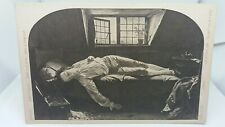 Vintage Art Postcard The Death of Chatterton Henry Wallis National Gallery