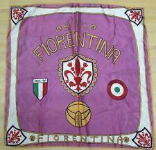 SCIARPA SCARF BANDIERA FLAG CALCIO ULTRAS FIORENTINA 1966 POLIESTERE (597)