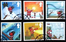 Great Britain - 2004 - Christmas - SG 2495/2500 - Used Set - CV £10.85