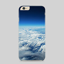Sky Blue Fluffy Clouds Scenery Phone Case Cover