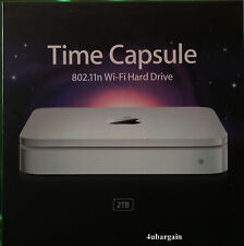 Apple Time Capsule 2TB Wi-Fi Festplatte Wireless N Router NAS MC344LL/A A1355
