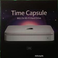 Apple Time Capsule 2TB Wi-Fi Hard Drive Wireless-N Router NAS MC344LL/A A1355