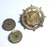 Vintage U.S Army Collar Insignia Pin Transportation Corps Original (B2)
