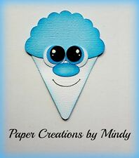 CRAFTECAFE MINDY SNOW CONE SUMMER TREAT DIE CUT premade paper piecing scrapbook