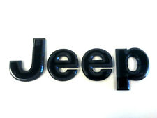 """Jeep Grand Cherokee """"BLACKED OUT"""" High Altitude Grille Emblem OEM 68193400-AA"""