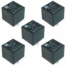5 x 12V Automotive Relay 40A 4-Pin SPNO