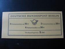 BERLIN GERMANY Mi. #MH 5 mint MNH stamp booklet ! CV $20.50