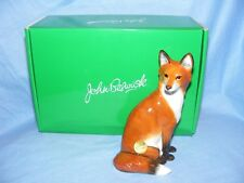 John Beswick Fox Sitting Wildlife JBW14 Collectable Ornament Present Gift NEW