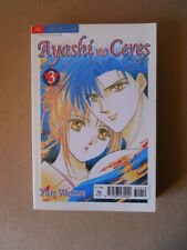 AYASHI NO CERES #3 - Yuu Watase Play Press Manga [G922]