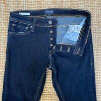 Mens Jack & Jones, Slim Fit (Glenn) Jeans W30 L30 Dark Blue IMMACULATE