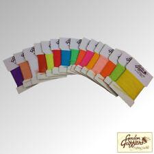 Gordon Griffiths Antron Corps fil globrite Pack de 16 couleur cartes (GBABY)