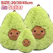 20-45cm Plush Toys Gift Pillow For Kids Cute Soft Avocado Stuffed Dolls Cushion