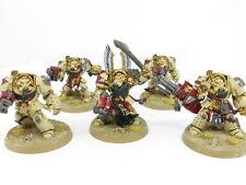 DEATHWING TERMINATORS - Painted OOP Warhammer 40k Space Marine Dark Angels Army