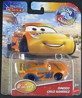 "NEW*Orange 2019 Disney Pixar Cars Color Changers""DINOCO CRUZ""VHTF COLOR Changers"