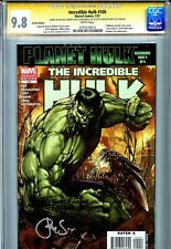 Incredible Hulk Vol 2 100 CGC 9.8 SS X2 Green variant Turner Steigerwald Planet