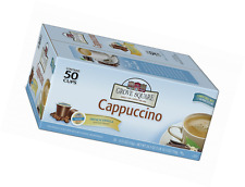 Grove Square Cappuccino French Vanilla 50 Single Serve Cups 50 Ct Keurig K-Cup