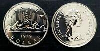 Canada 1979 Proof Like Gem Voyageur Nickel Dollar!!