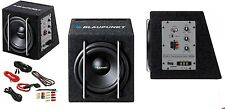 BLAUPUNKT GTb 8200 Aktive Subwoofer + Kabelset MaX PoweR 200W Hi Level GT Series