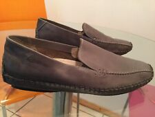 Pikolinos Shoes Grey Leather Loafers Size 41 Slip Ons