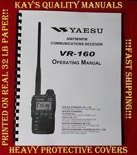 Highest Quality Yaesu VR-160 Operating Manual