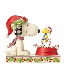 Candy Cane Christmas (Snoopy & Woodstock) Xmas Christmas Jim Shore NEW G28661