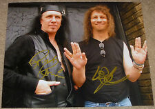 """Anvil Signed 8x10 Photo Autographed by Steve """"Lips"""" Kudlow & Robb Reiner"""