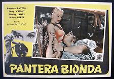 CINEMA-fotobusta PANTERA BIONDA payton,wright,james,burke,LE BORG