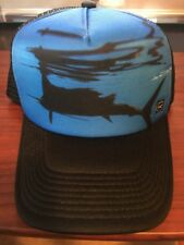 8275187a Oneill Surfing Company Trucker Cap Hat Blue/Black One Size Adjustable