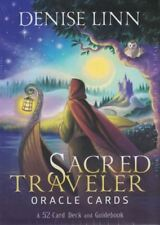 Sacred Traveler Oracle Cards a 52-card Deck and Guidebook by Linn Denise Book