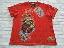 Mens Star Wars Marc Ecko Collab Cut & Sew Master Yoda Vinyl Graphic Print Tee XL