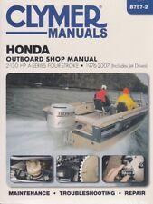 1976 2007 Honda 2-130 HP Outboard Marine Boat Repair Manual 50 75 90 115 B7572