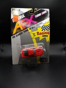 TOMY AURORA AFX RED STREET CAMARO Z28 #8735 SLOT CAR NEW OLD STOCK 1989