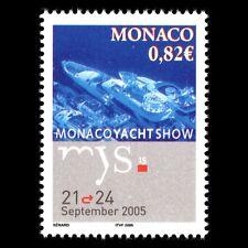 Monaco 2005 - Monaco Yacht Show Ships Boats - Sc 2384 MNH