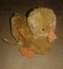"Handcrafted Duck Plush Stuffed Animal 6"" by Pauline's Original 1974"
