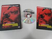 LEON EL PROFESIONAL LUC BESSON JEAN RENO NATALIE PORTMAN DVD ESPAÑOL ENGLISH