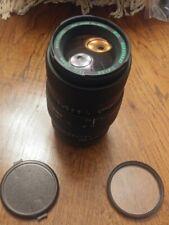 Quantaray 70-210 f4-5.6 MC Sony Nex Adapter and Filter.