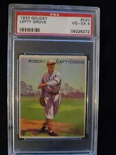 1933 Goudey #220 LEFTY GROVE HOF PSA 4 VG-EX. Check out my other listings!