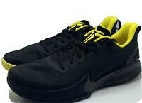 Nike Kobe Mamba Focus US Men's Size 12 Black/Yellow AJ5899-001 Basketball Shoes