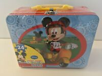 Disney Mickey Mouse Clubhouse Puzzle in Tin with Handle (24-Piece)