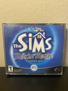 The Sims: Makin' Magic Expansion Pack (PC, 2003)