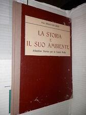 LA STORIA E IL SUO AMBIENTE ATLANTINO STORICO PER LE SCUOLE MEDIE S Crino 1935